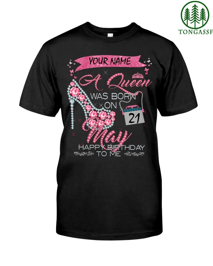 H MAY QUEEN Custom Classic Shirt