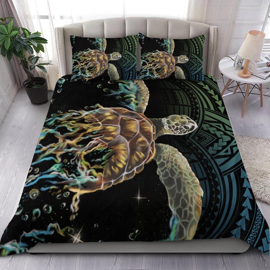 Hawaii Sea Turtle Polynesian Bedding Set