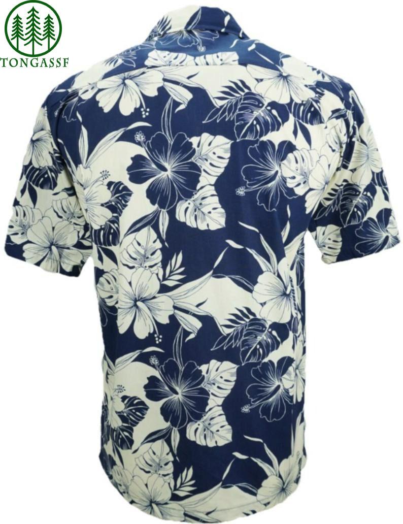 Hawaiian Shirt Hibiscus Leaf