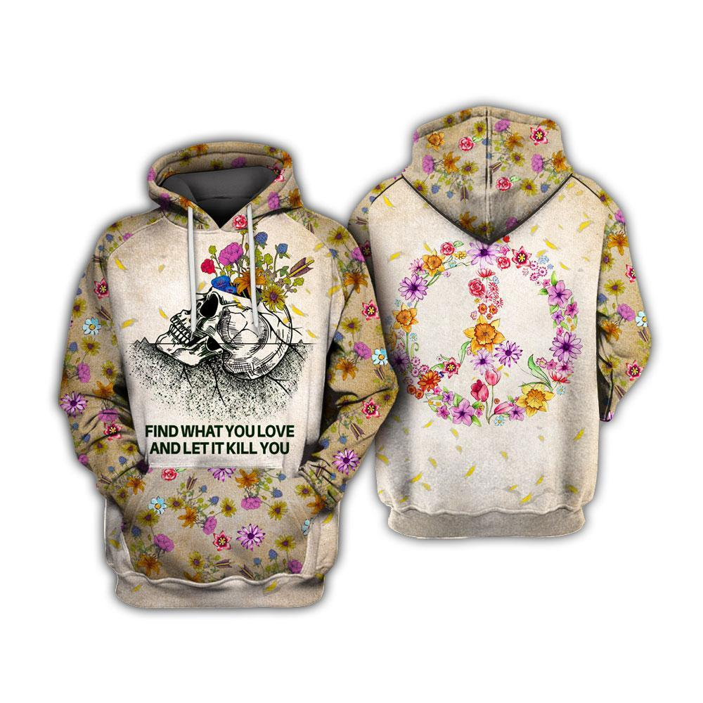 Skull collection 2021 hoodie 3D