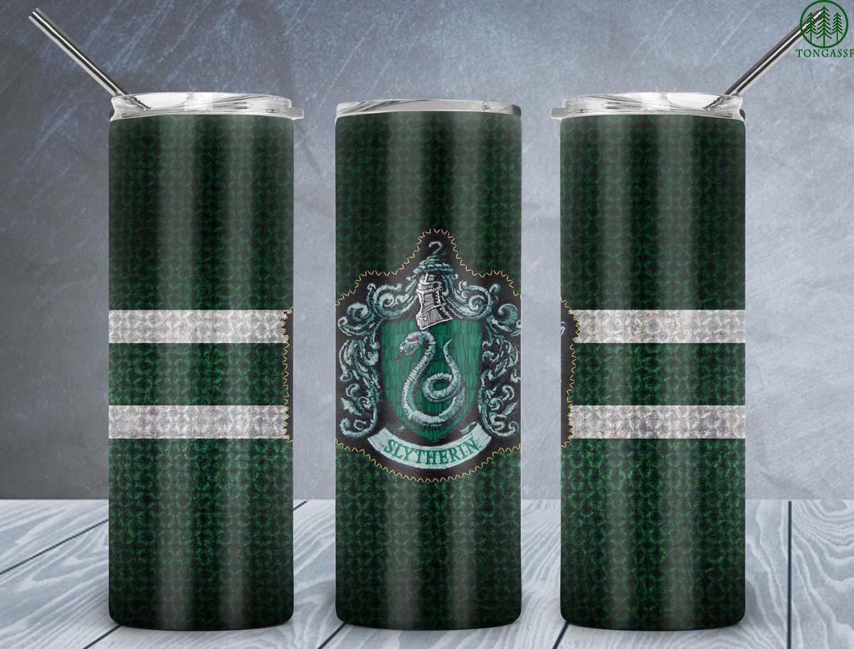 Hogwart Slytherin Snake Skinny tumbler