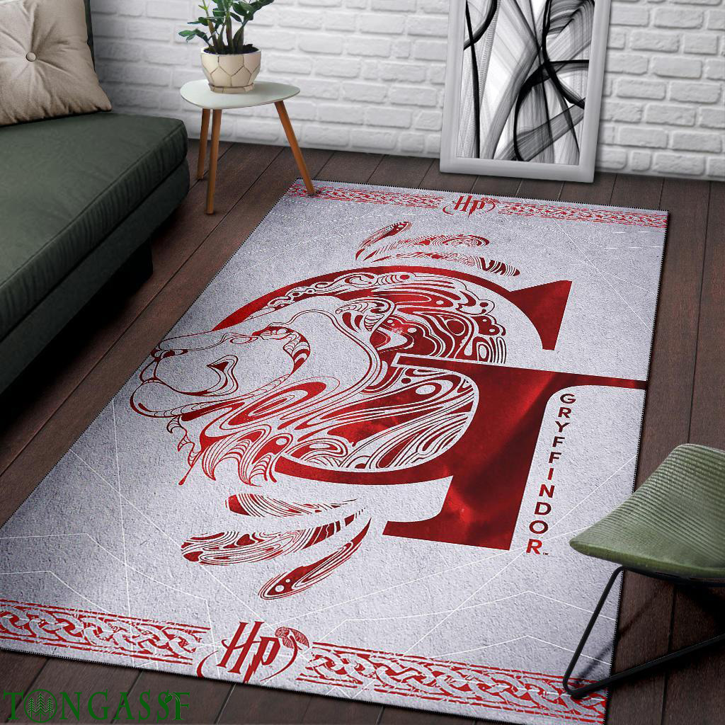 Hogwarts Houses modern design area rug