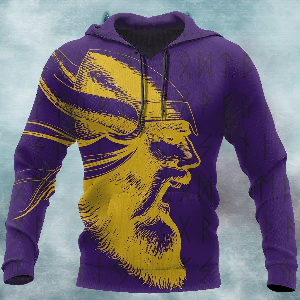 Vikings Warrior Purple Hoodie