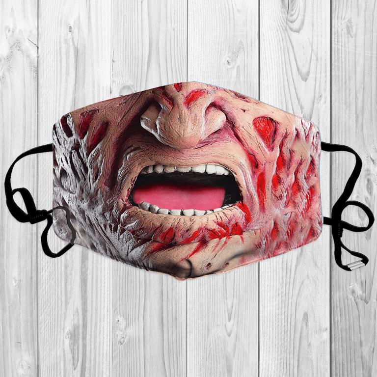 Horror Character Halloween Freddy Krueger face mask