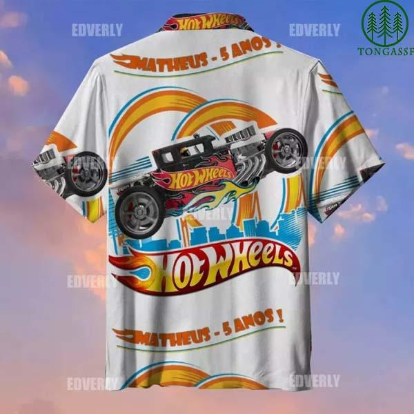 Hot Wheels Matheus 5 anos Hawaiian Shirt T shirt