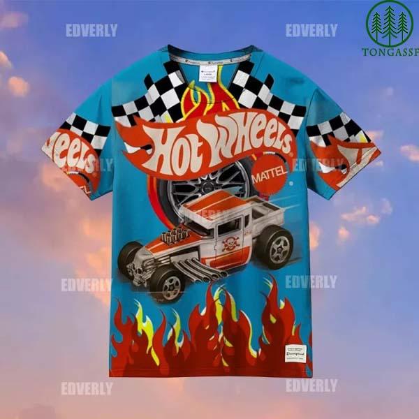Hot wheels Bone Shaker Hawaiian Shirt T shirt