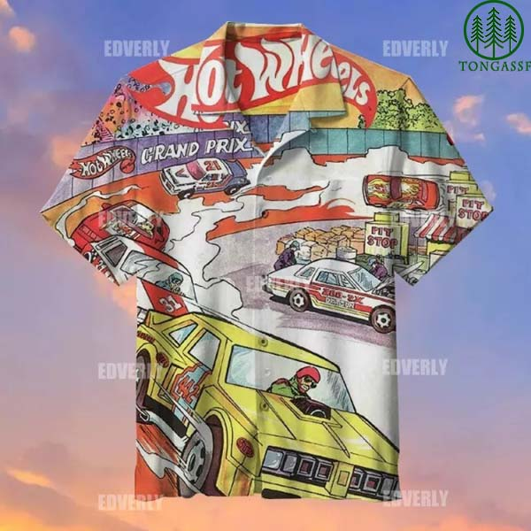 Hot wheels Hot Wheels Grand Prix Hawaiian Shirt T shirt