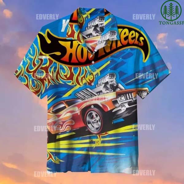 Hot wheels Rodger Dodger Hawaiian Shirt T shirt