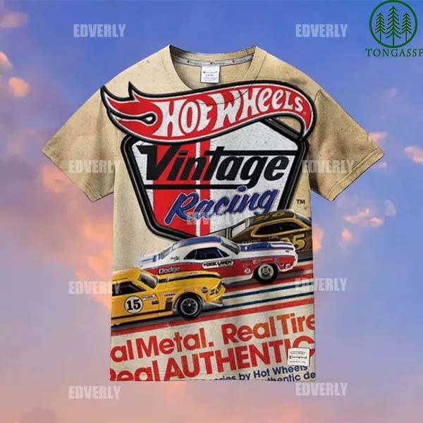 Hot wheels Vintage Racing Hawaiian Shirt T shirt