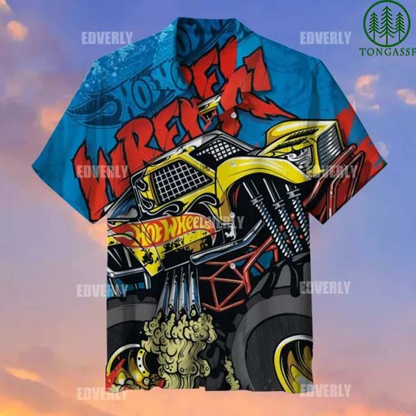 Hot wheels Wreck Racing Hawaiian Shirt T shirt