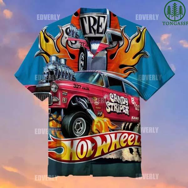 Hot wheels candy striper gasser Hawaiian Shirt T shirt