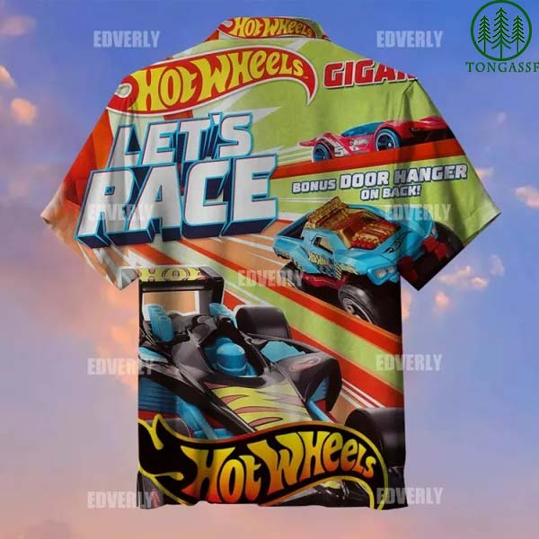 Hot wheels let s race Hawaiian Shirt T shirt