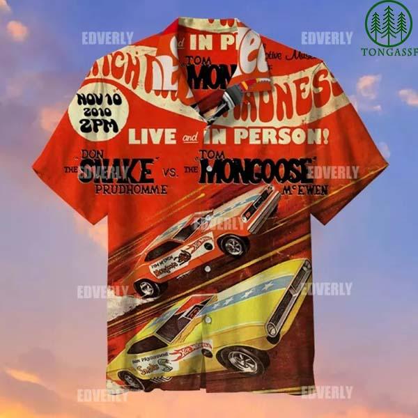 Hot wheels snake and mongoose Hawaiian Shirt T shirt
