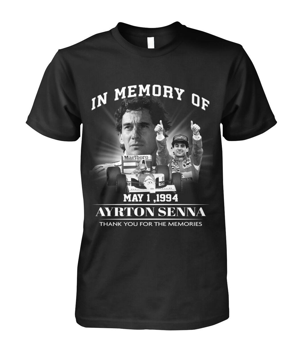 In Memory Of Ayrton Senna Shirt