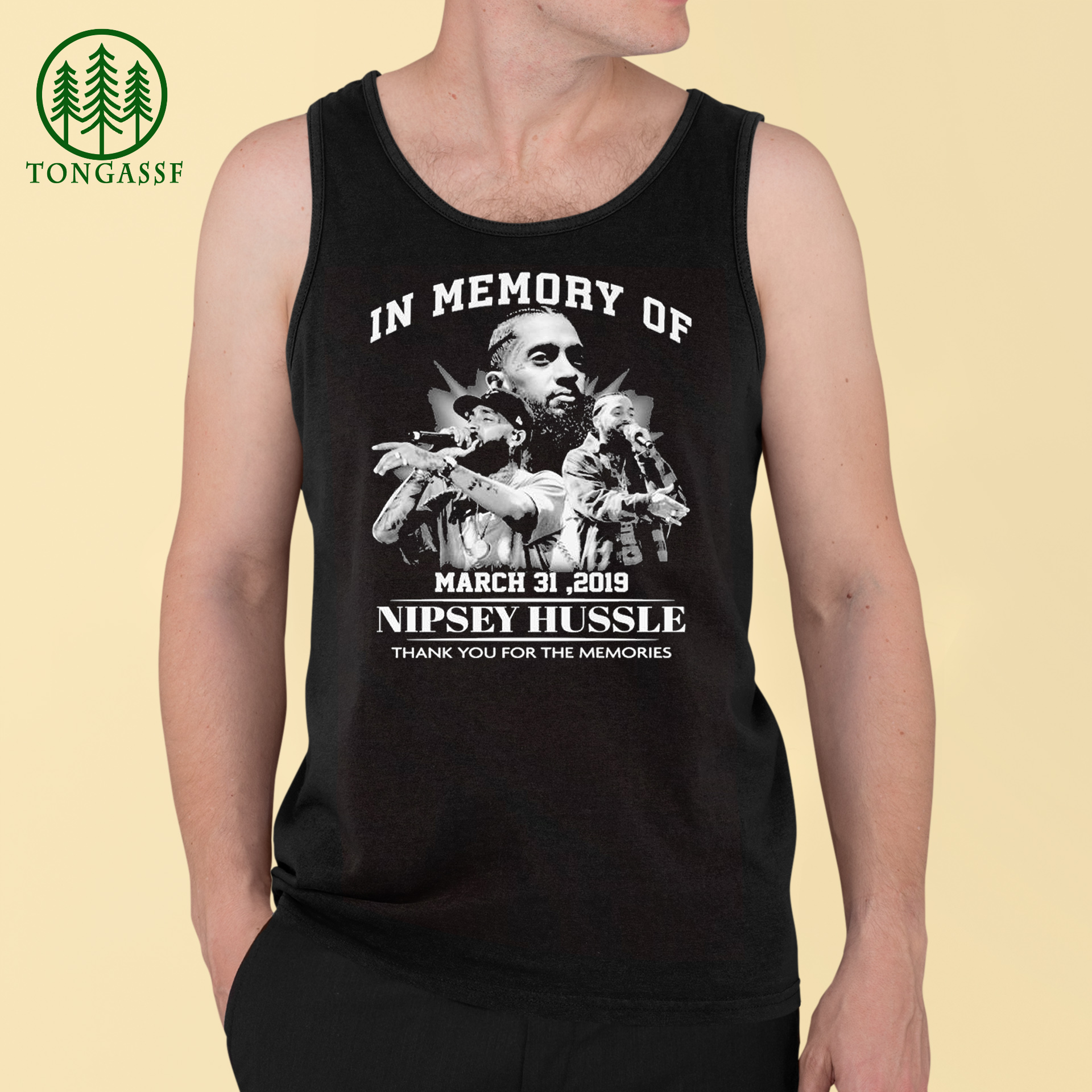 In memory of March 31 2019 Nipsey Hussle thank you for the memories shirt