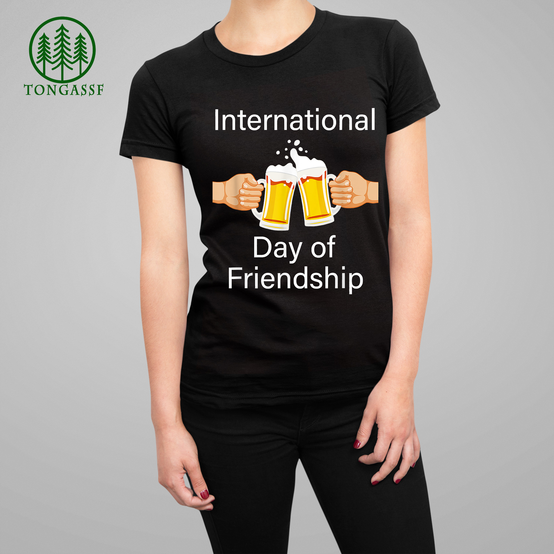 International Day of Friendship For Drinkers T Shirt