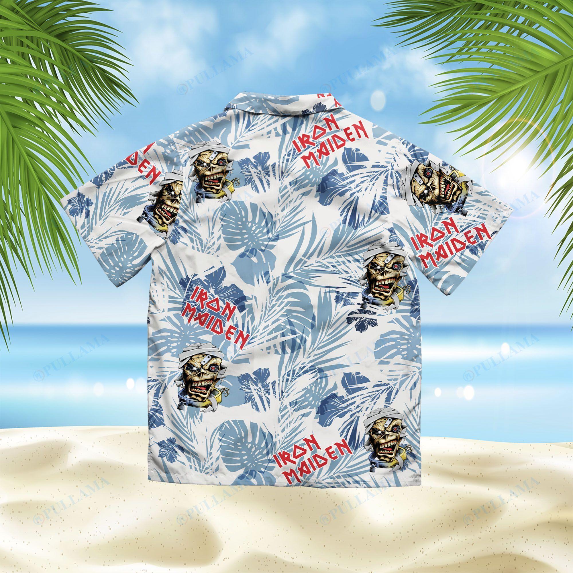 Iron Maiden Hawaiian Shirt 2