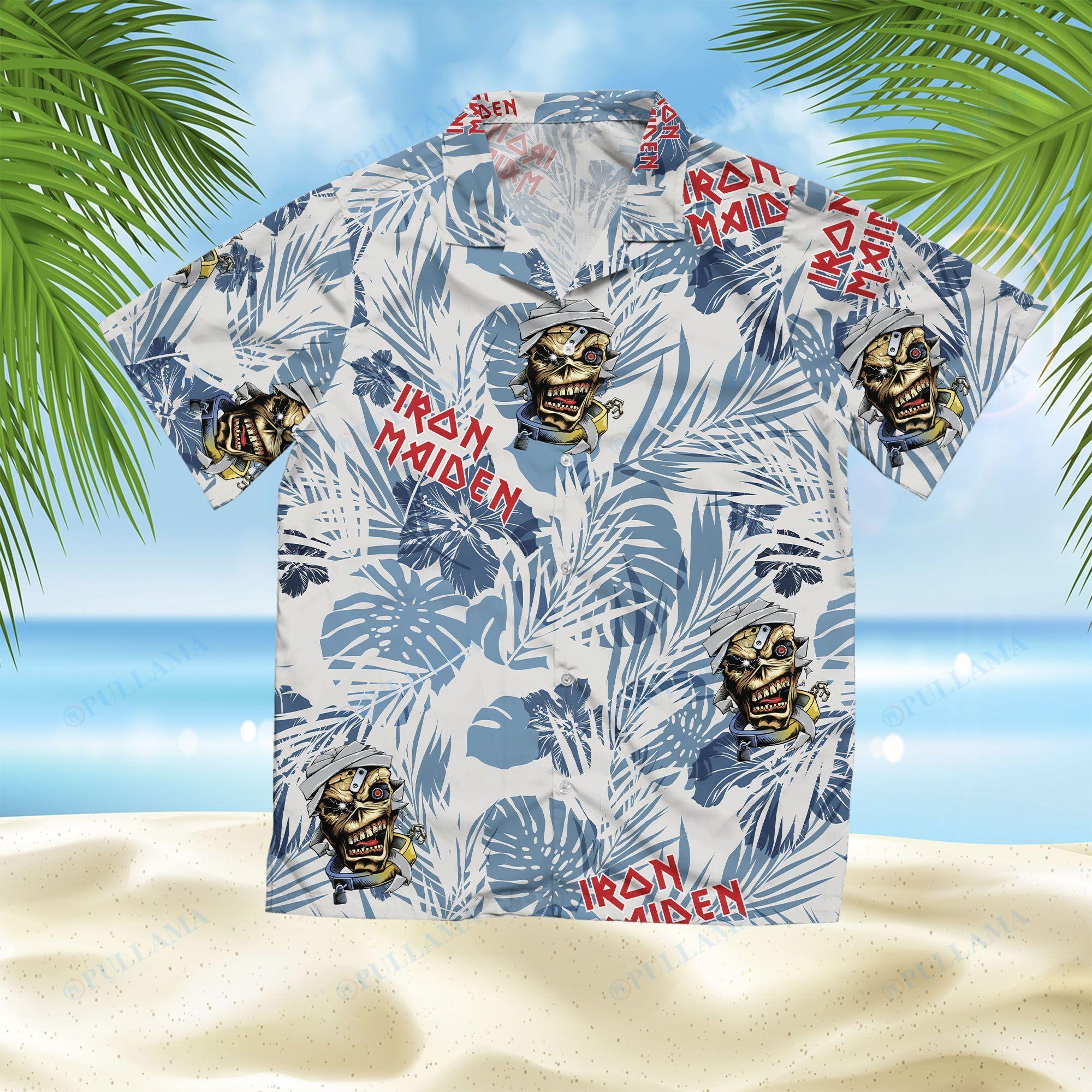 Iron Maiden Hawaiian Shirt