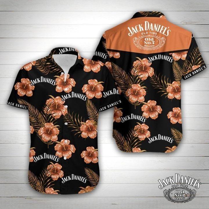 Jack Daniels For Whiskey Lover Hawaiian Shirt Summer Shirt