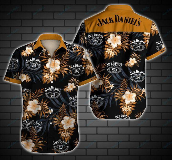 Jack Daniels Hawaiian Shirt Summer Shirt