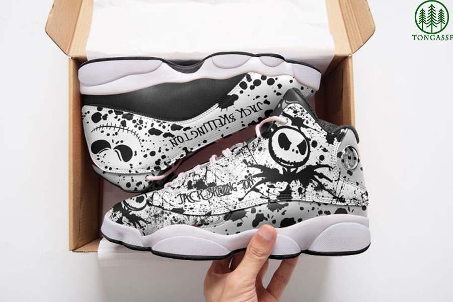 Jack Skellington Air Jordan 13 sneaker shoes