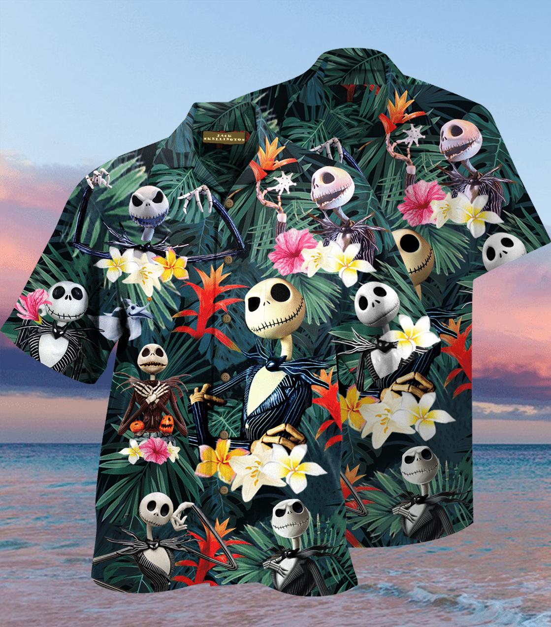 Jack Skellington Hawaiian Shirt 2