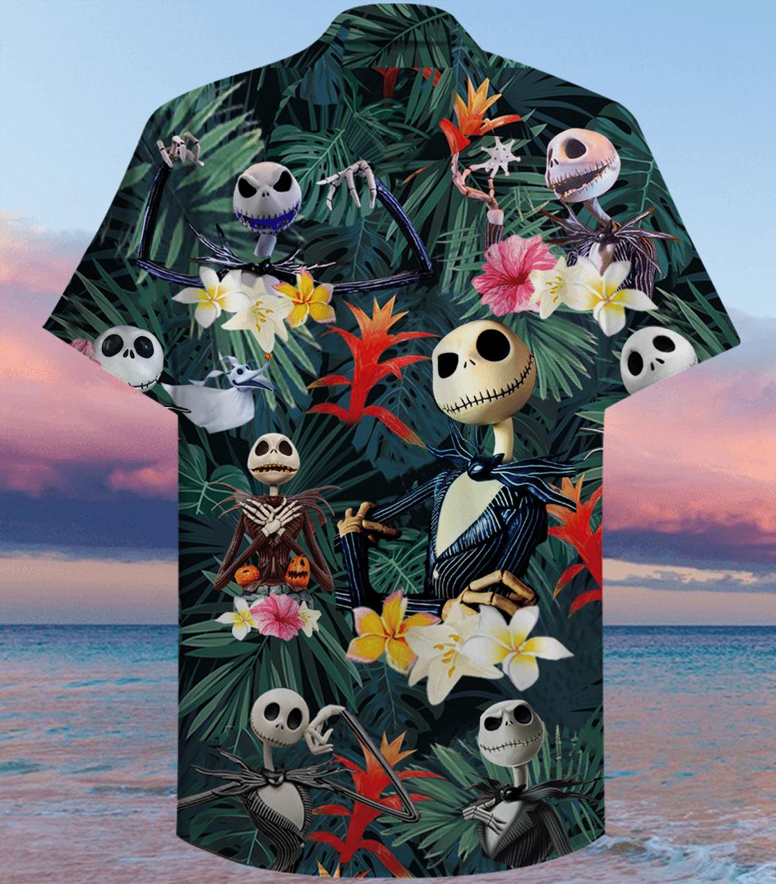 Jack Skellington Hawaiian Shirt 3