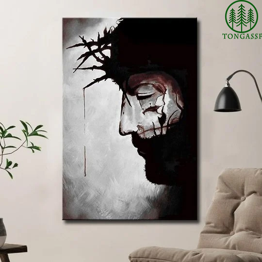 Jesus crown with thorns poster