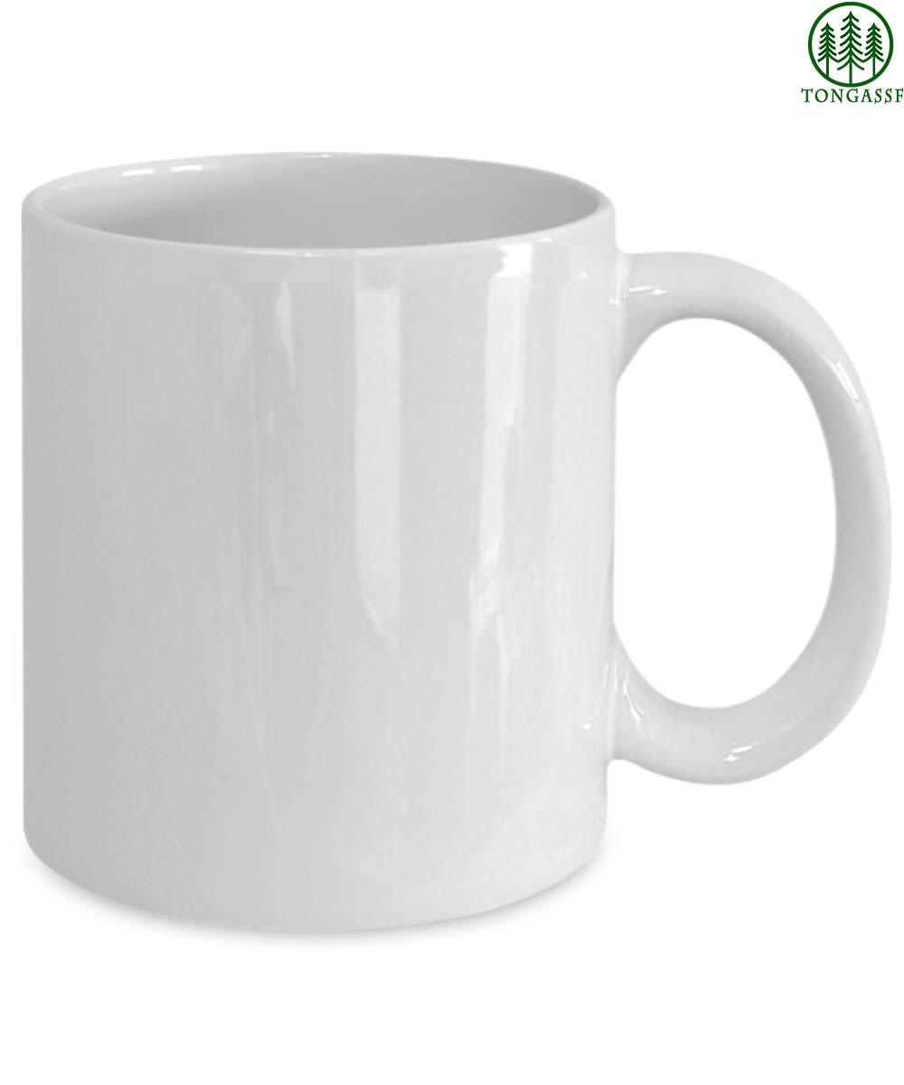 Joe Biden is not my president white ceramic mug