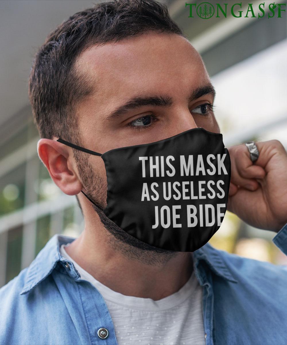 Joe Biden is useless newest face mask