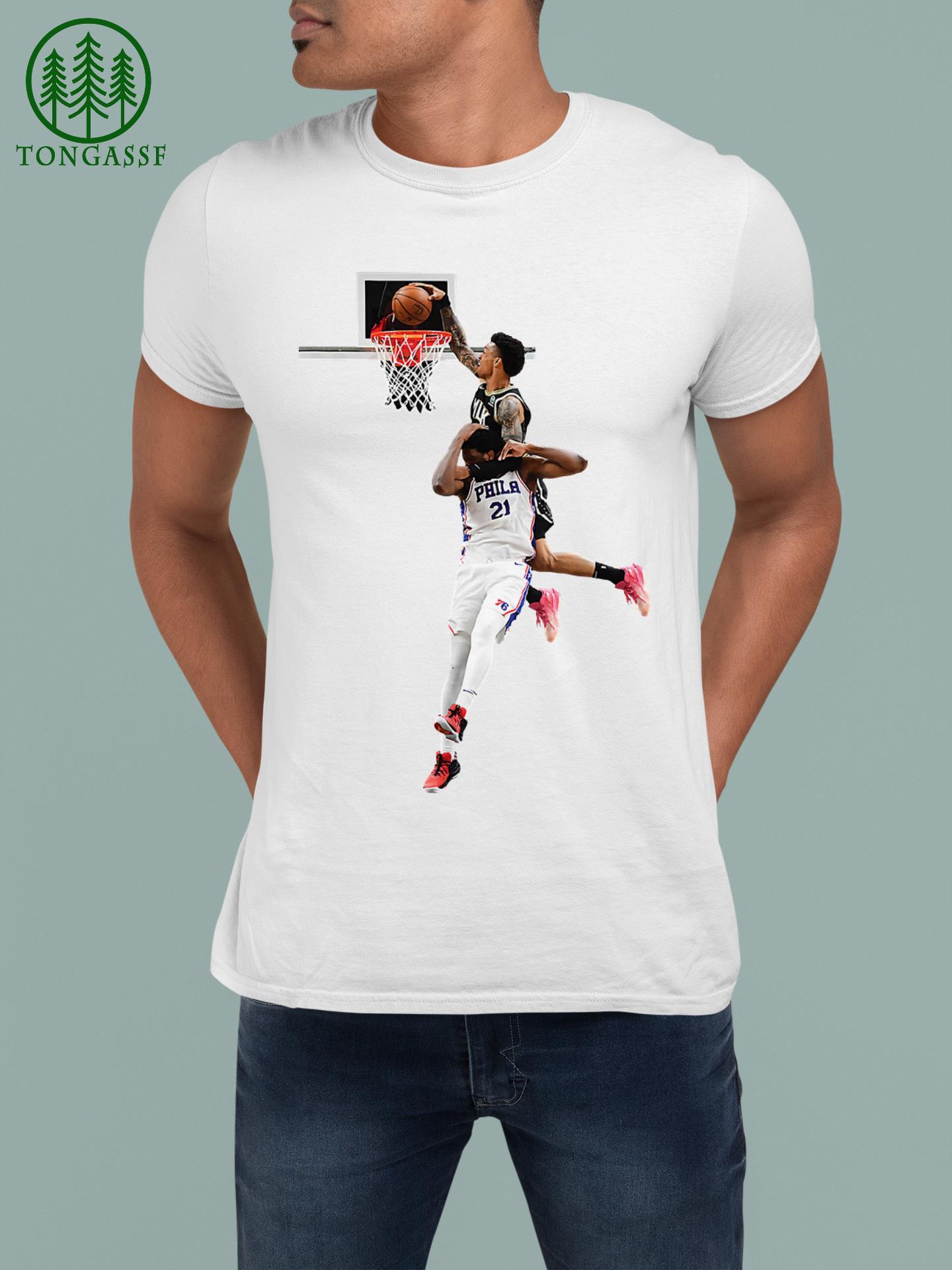 John Collins Joel Embiid NBA basketballShirt