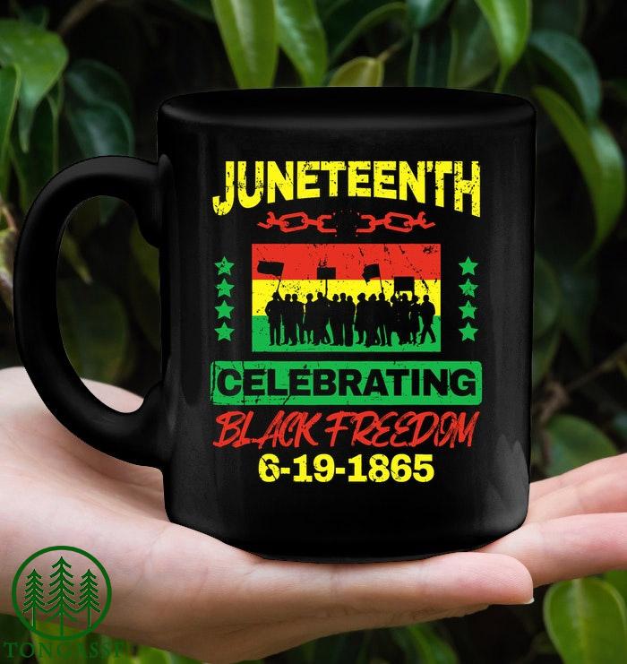Juneteenth black freedom celebrate mug