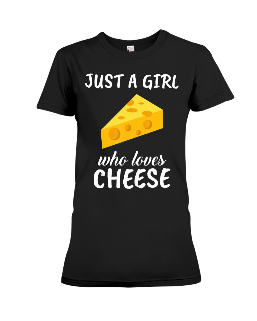 Just a girl who loves cheese Tshirt