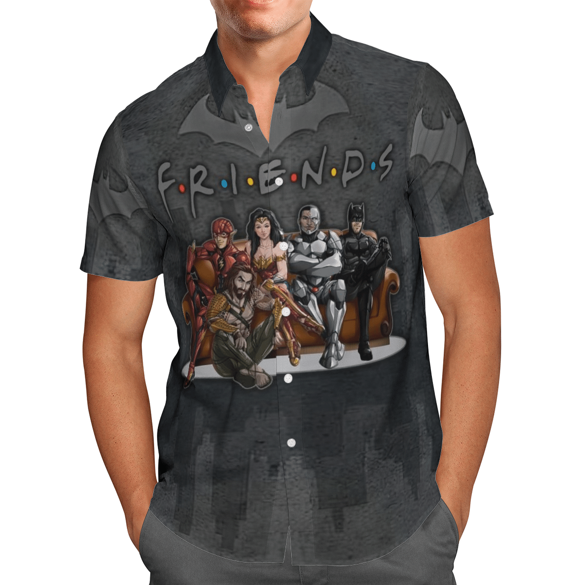 Justice League Friend Hawaiian Shirt
