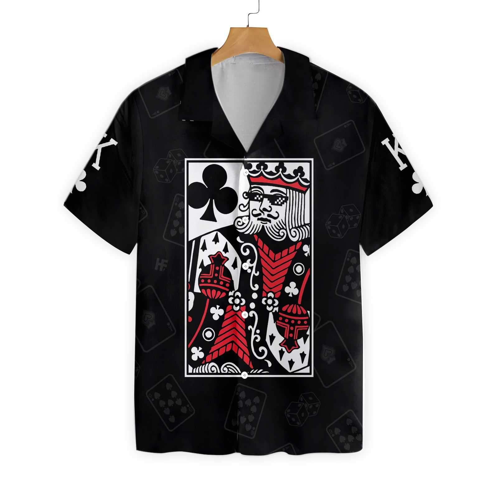 King Card Hawaiian Shirt Summer Shirt 2