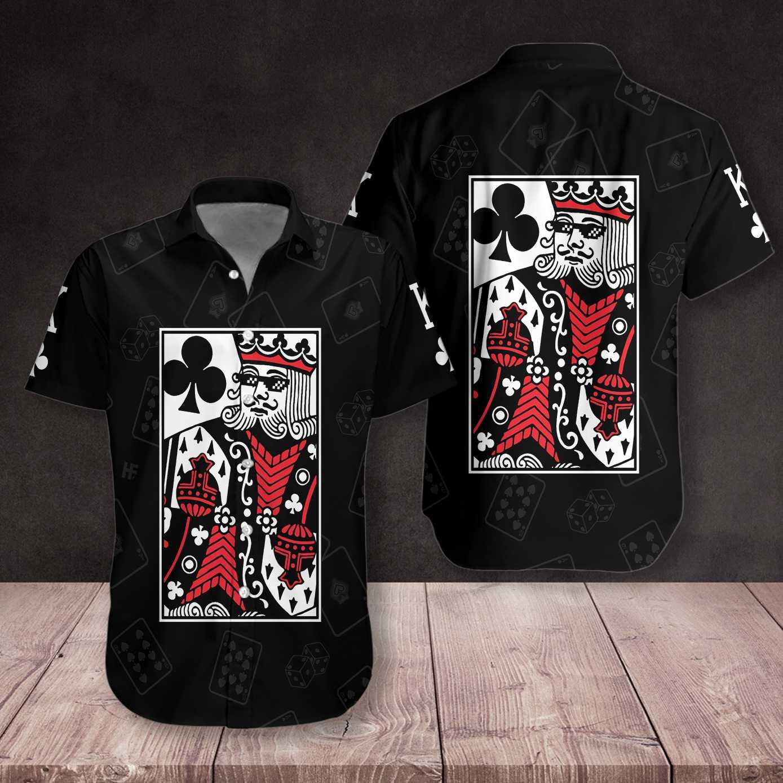 King Card Hawaiian Shirt Summer Shirt