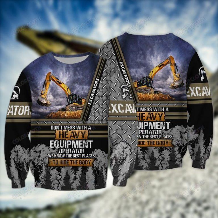 Love Heavy Excavator Sweatshirt