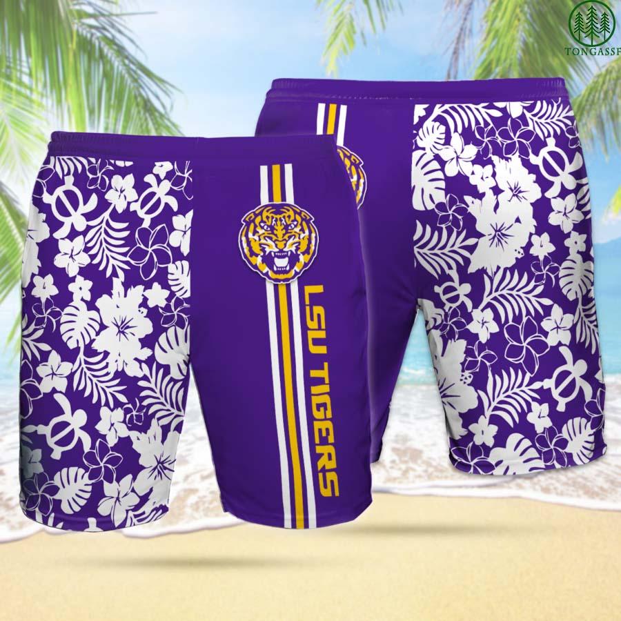 LSU TIGERS Hawaiian Shorts