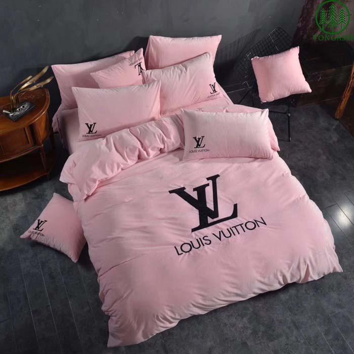 LV Louis Vuitton Bedding Set