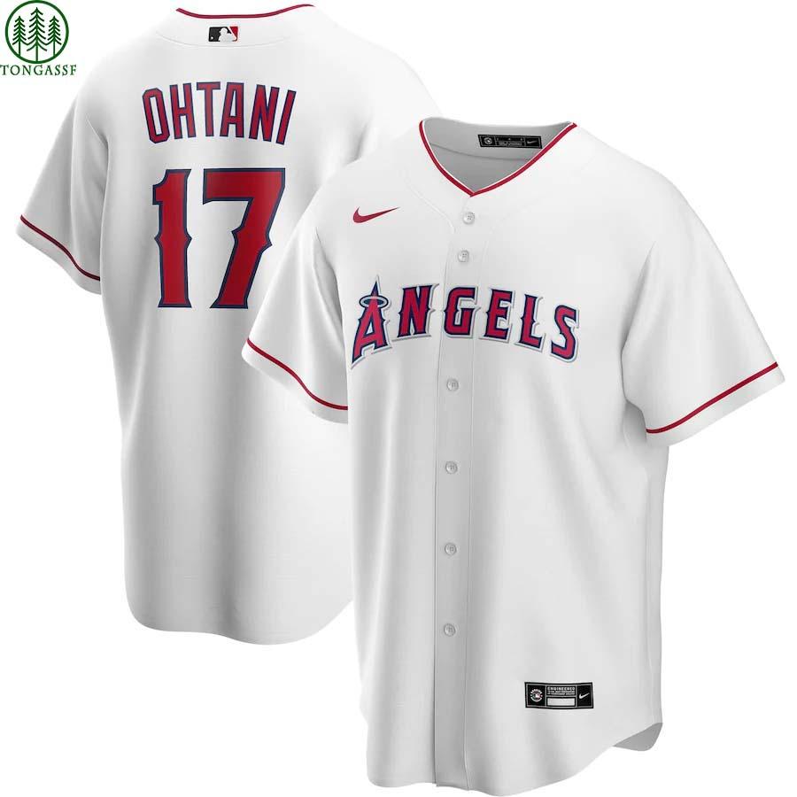 Los Angeles Angels Shohei Ohtani Nike White Replica Baseball Jersey