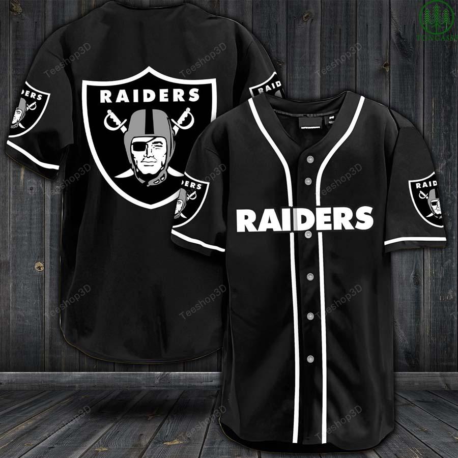 Los Angeles Raiders baseball Jersey shirt