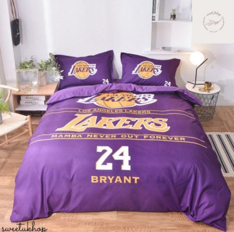Los Angeles lakers Kobe Bryant 24 Bedding Set