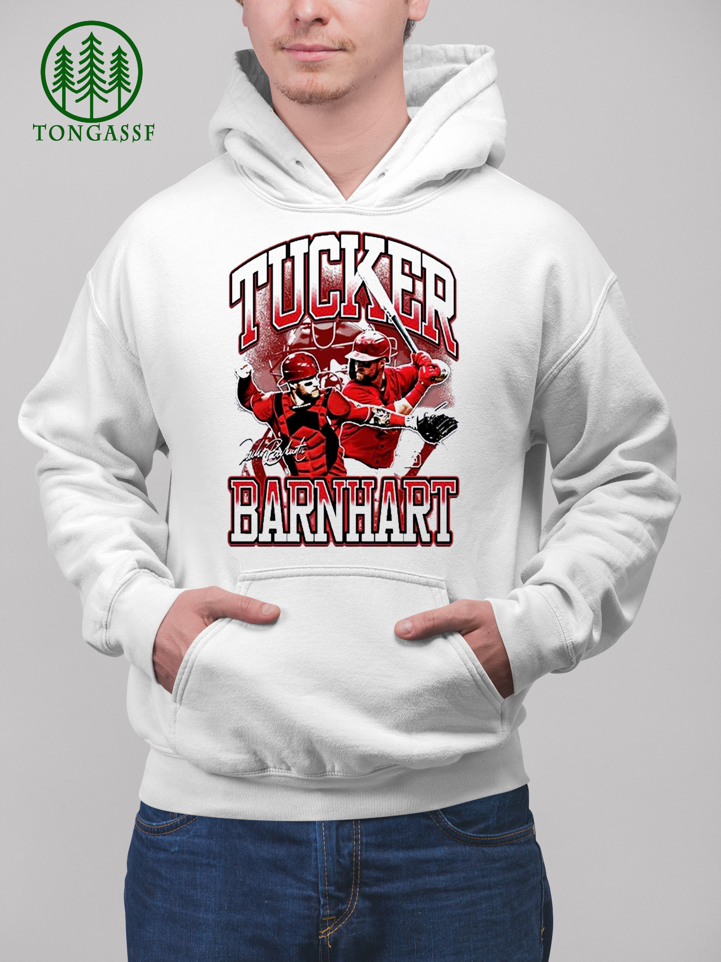 MLB Tucker Barnhart baseball Shirt