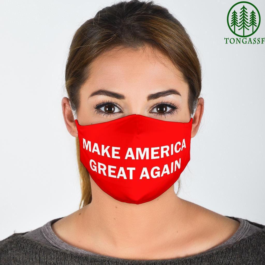 Make america great again maga Trump 2021 face mask