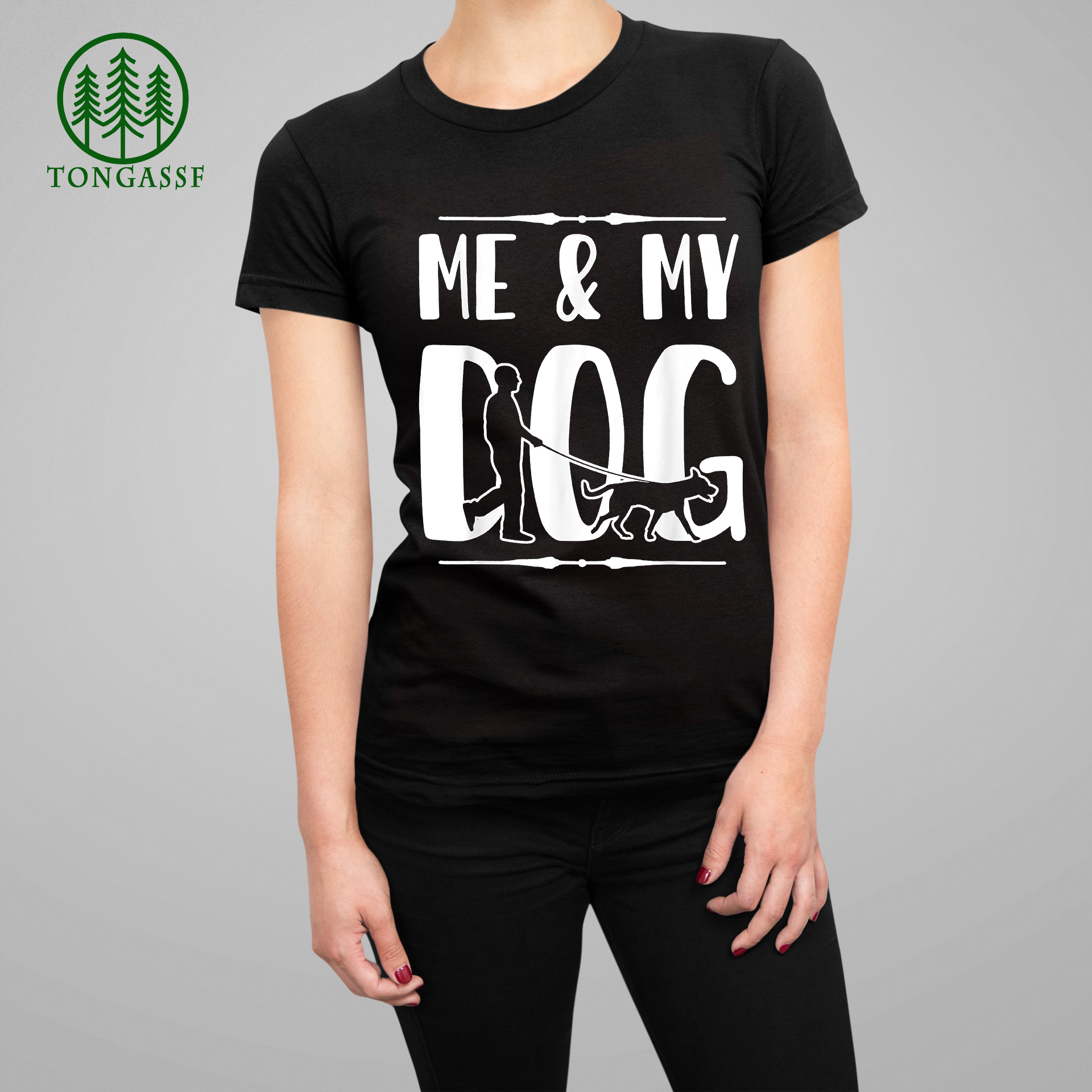 Me and My Dog Design Gift For Dog Lover Dog Friendship T Shirt