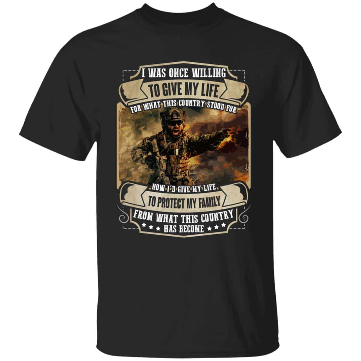 Memorial Day I Was Once Willing to Give My Life Shirts 2