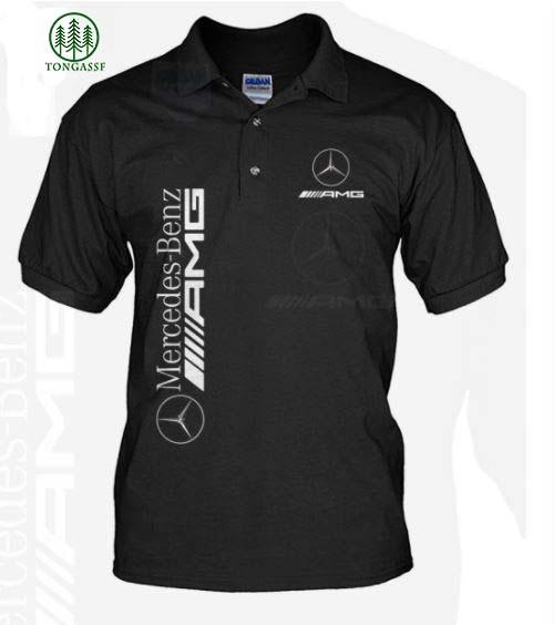 Mercedes Benz AMG with logo Polo Shirt
