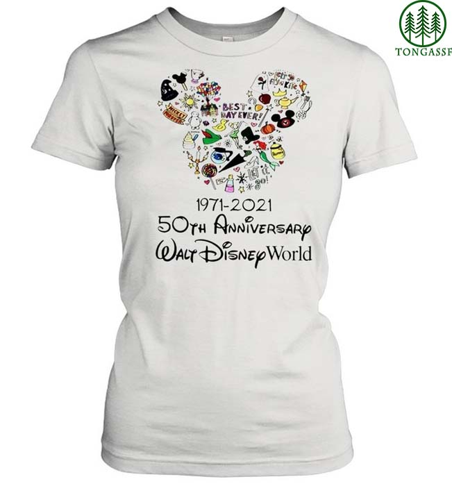 Mickey 50th Anniversary Walt Disney World Shirt