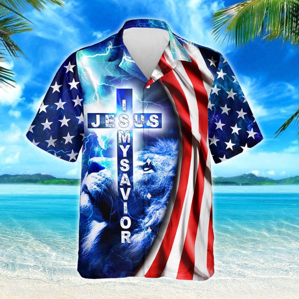 My God Jesus Is My Savior Hawaiian Shirt 2