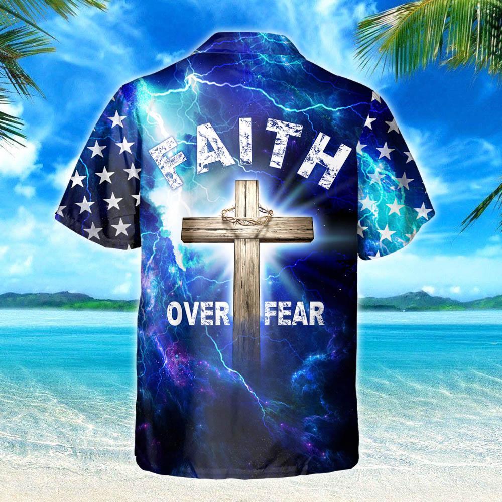 My God Jesus Is My Savior Hawaiian Shirt 3